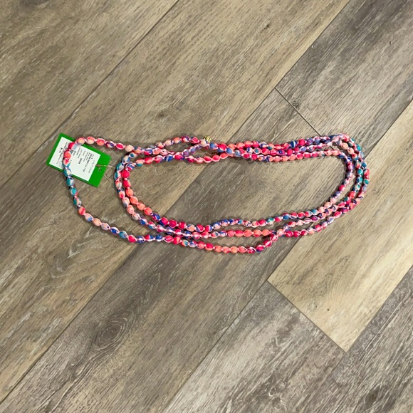 Lilly Pulitzer beaded necklace NWT